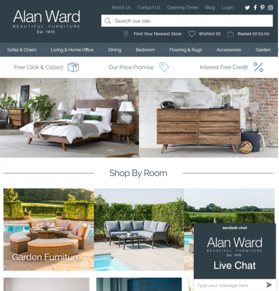 Alan Ward - Home Page