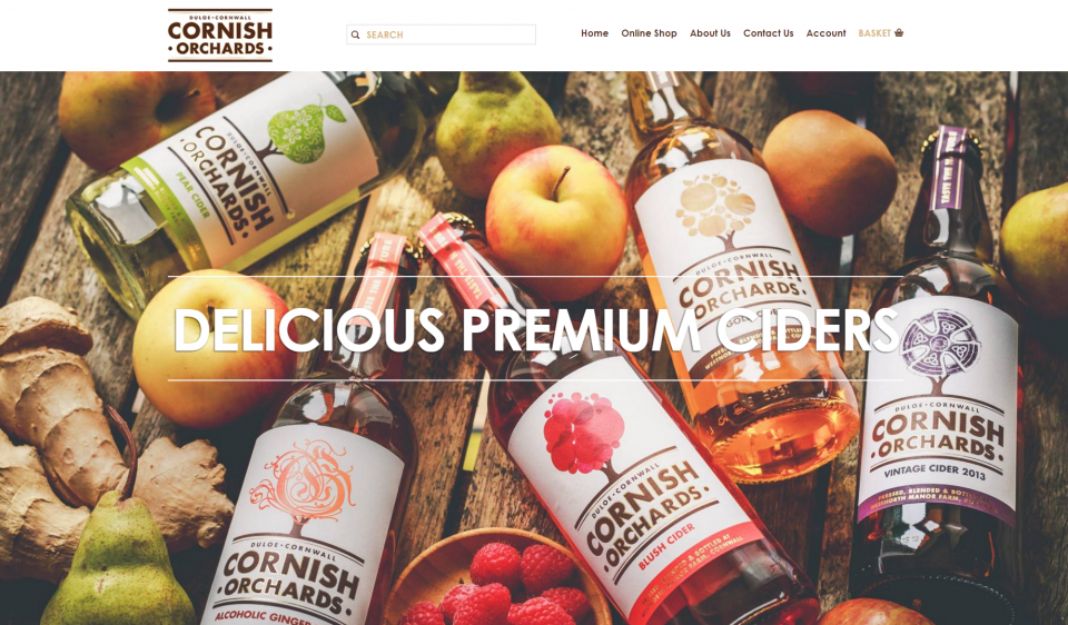 Cornish Orchards Home Page