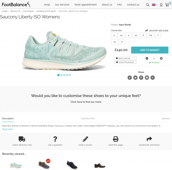 FootBalance UK Shoe